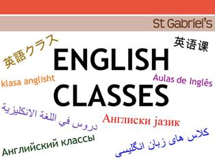 English Classes Ad